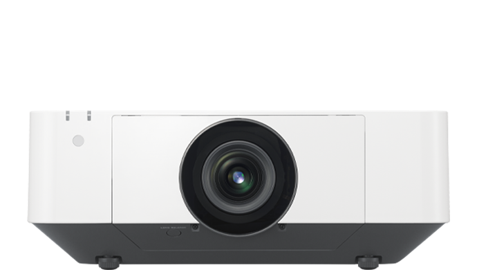 Product image of a VPL-FHZ75 laser projector.