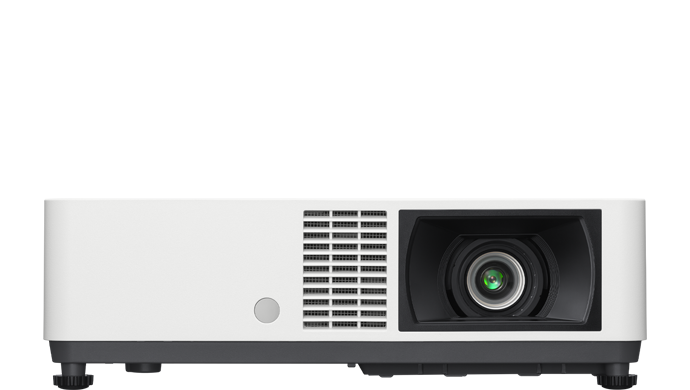 Product image of a VPL-CWZ10 laser projector.