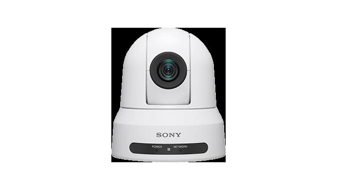Front facing image of PTZ camera