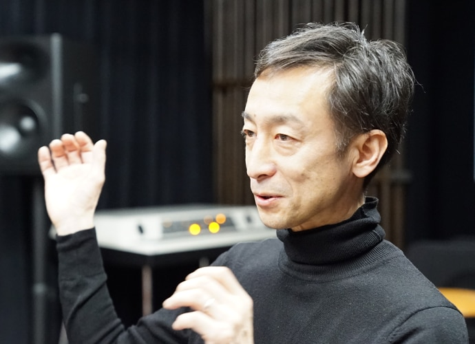 Director and Studio Senior Executive Manager Susumu Kunisaki