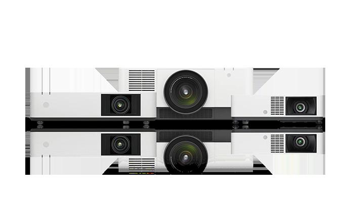 소니 레이저 프로젝터 모델 3개로 이루어진 제품군