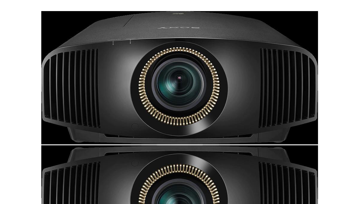 Die Vorderansicht unseres SXRD-4K-Laserprojektors VPL-GTZ380