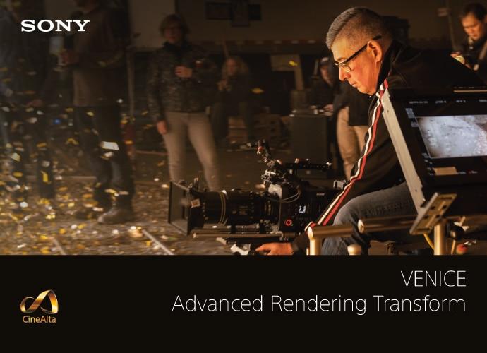 VENICE Advanced Rendering Transform brochure front cover