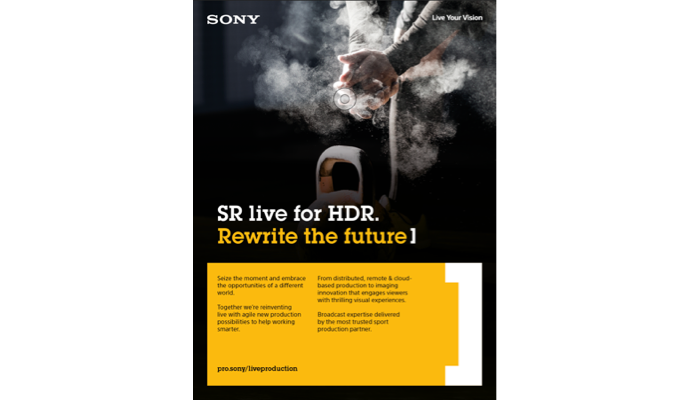 SR Live for HDR workflow whitepaper