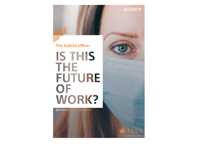 The front page of our white paper entitled 'Is this the future of work?
