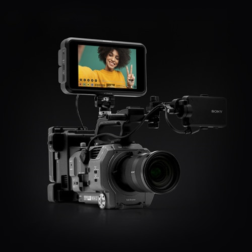 PXW-FX9 with ATOMOS Shogun