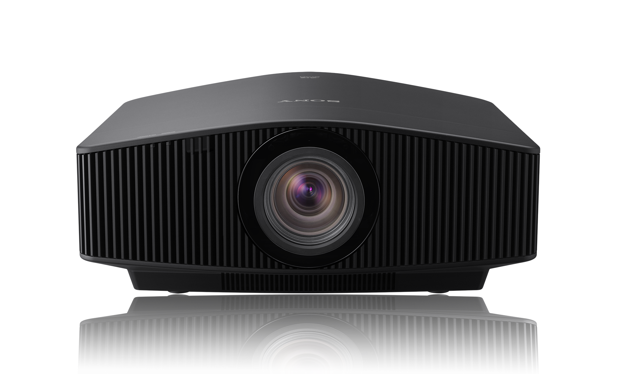 Front-facing view of the VPL-VW870ES home cinema projector