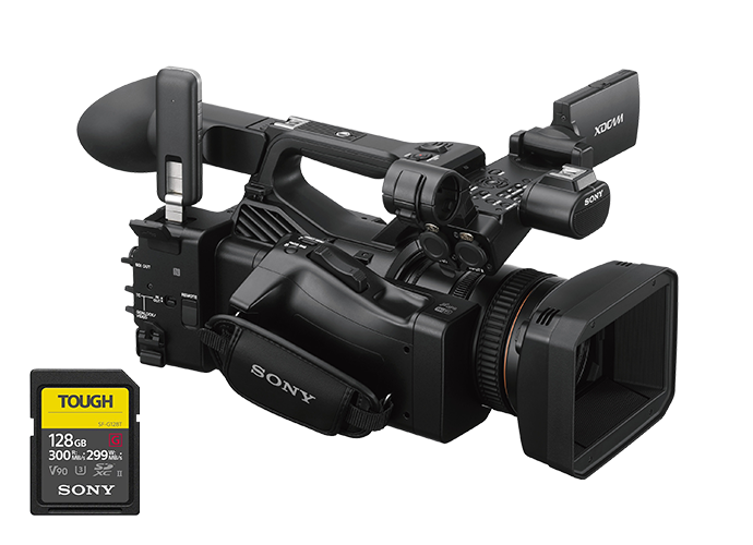 PXW-Z280 Camcorder with SD Card