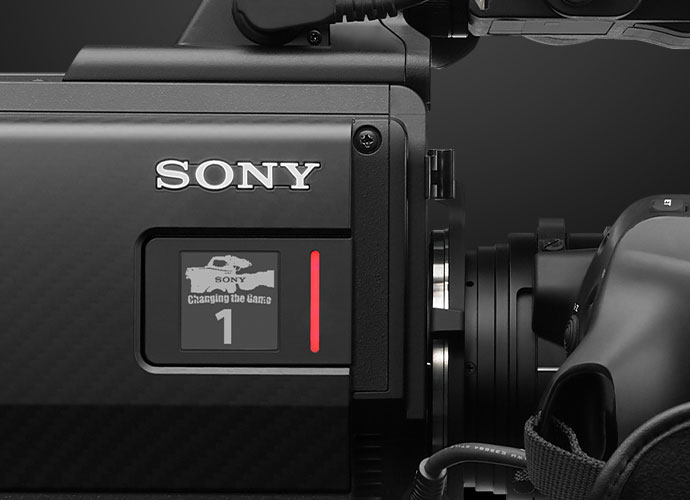 Sony side tally lamp