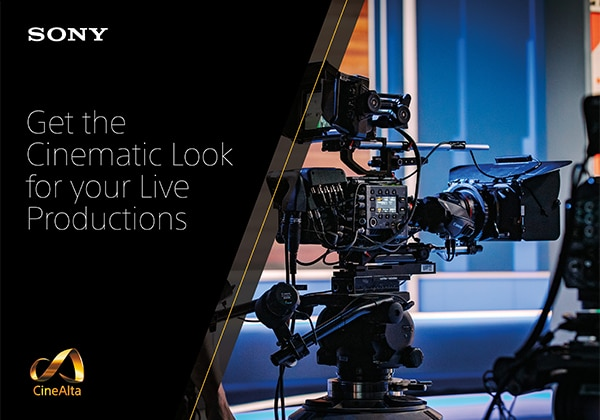 Sony VENICE camera for cinematic look